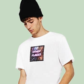 Textildruck T-Shirt für Männer
