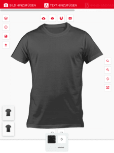 Mit Prishirt T-Shirts online bedrucken lassen und individuelles Designs erstellen