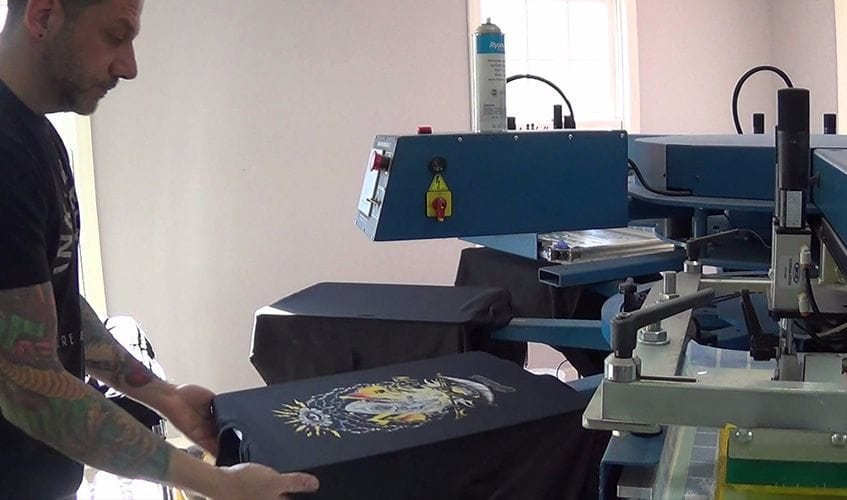 You are currently viewing Prishirt erklärt: Druckverfahren Siebdruck