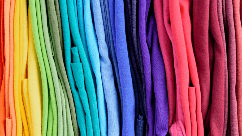 Arbeitskleidung Bunte Farben