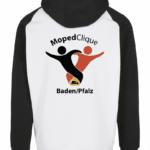 2 farbiger Hoodie der MopedClique