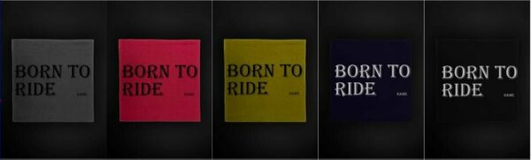 Textildruck Tshirts bedrucken lassen Bandana Born to Ride