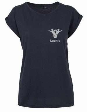 Textildruck Tshirts bedrucken lassen Damen Oversize Marine