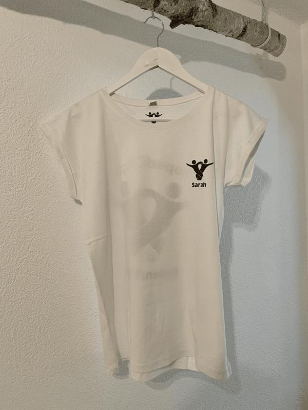 Textildruck Tshirts bedrucken lassen Damen Oversize Weiss