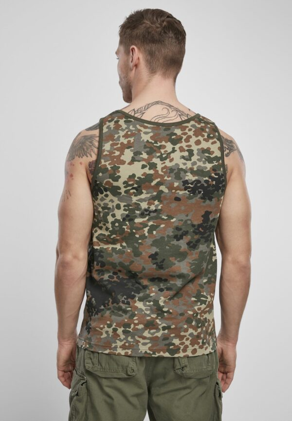 Textildruck Tshirts bedrucken lassen Herren Tanktop Flecktarn