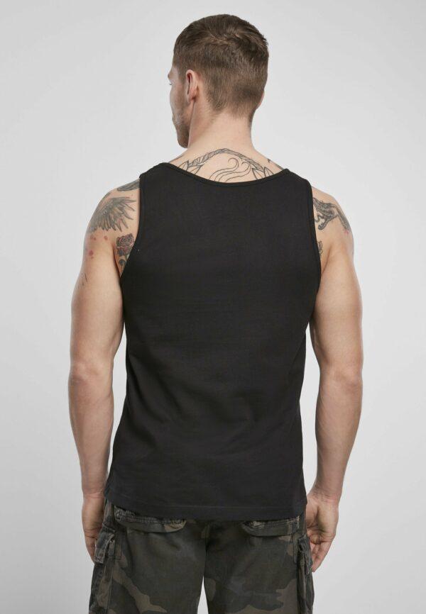 Textildruck Tshirts bedrucken lassen Herren Tanktop Schwarz