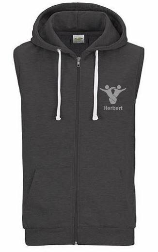 Textildruck Tshirts bedrucken lassen Vest Hoodie Kohle 1