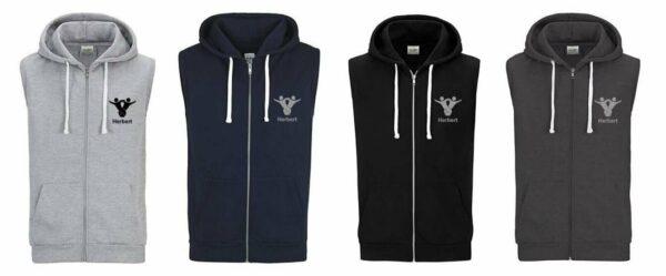 Textildruck Tshirts bedrucken lassen Vest Hoodie Übersicht 1